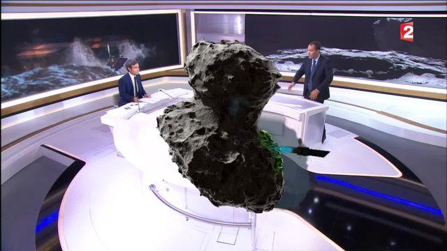 Les derniers moments de la sonde Rosetta