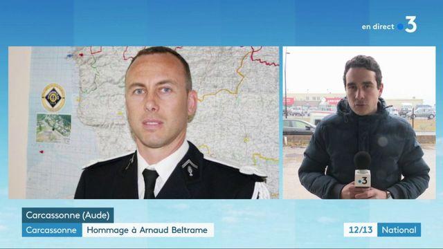 Carcassonne : hommage à Arnaud Beltrame