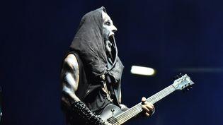 Adam Darski, le chanteur du groupe metal Behemoth à Mexico, le 30 novembre 2019 (EYEPIX / SIPA USA)