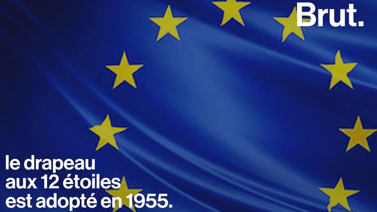 Le drapeau européen : un symbole religieux ? (Brut.)