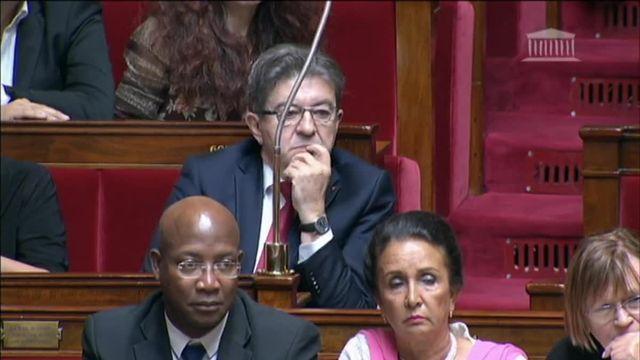 Echange entre Mélenchon et le Premier ministre sur la Catalogne
