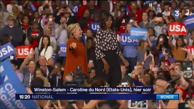 États-Unis : Michelle Obama, soutien d'Hillary Clinton