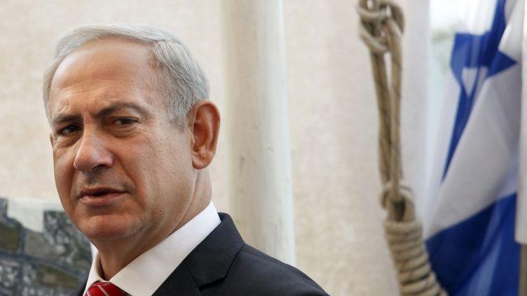 Le Premier ministre Benyamin Netanyahu est en visite en France, mercredi 31 et jeudi 1er novembre. Il devrait demander à la France de s'abstenir de voter l'adhésion de la Palestine à l'ONU, selon l'expert Frédéric Encel. (GALI TIBBON / AFP)