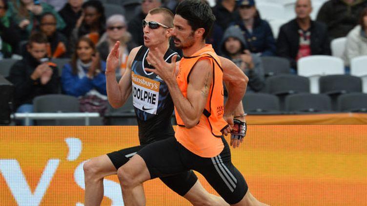 Le sprinteur français Timothée Adolphe