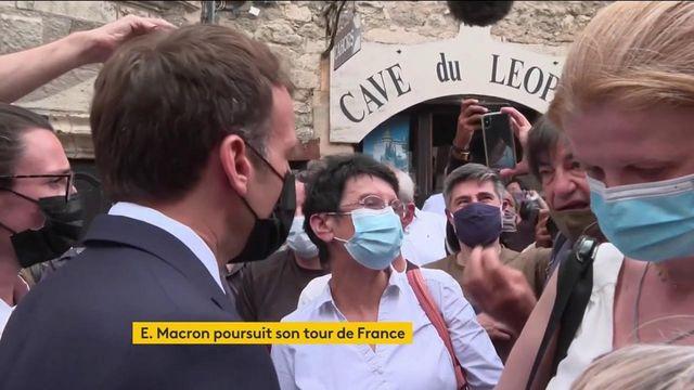 Emmanuel Macron va à la rencontre des Français et défend son bilan