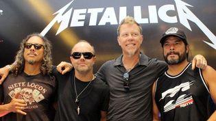 Metallica, en octobre 2011.  (MQA/ZOB/WENN.COM/SIPA)