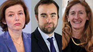 Florence Parly, Sébastien Lecornu et Nicole Belloubet font partie des 11 nouveaux ministres nommés au gouvernement le 21 juin 2017. (AFP)