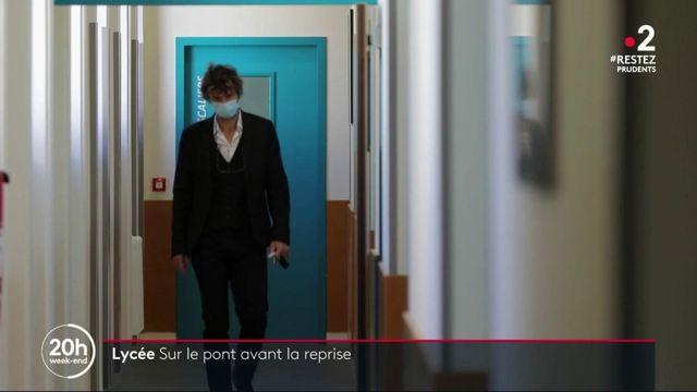 Ain : maintenir le lien avec les élèves du lycée de Bourg-en-Bresse malgré l'épidémie