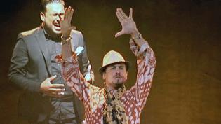 "Un bailaor accompagné d'un cantaor au Festival ""Arte Flamenco""  (France3/Culturebox)"