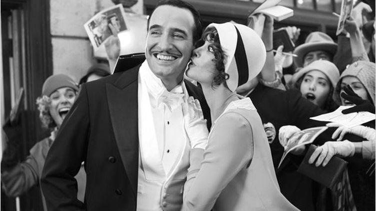 "Jean Dujardin et Bérénice Bejo dans ""The Artist"", de Michel Hazanavicius. (WARNER BROS FRANCE)"