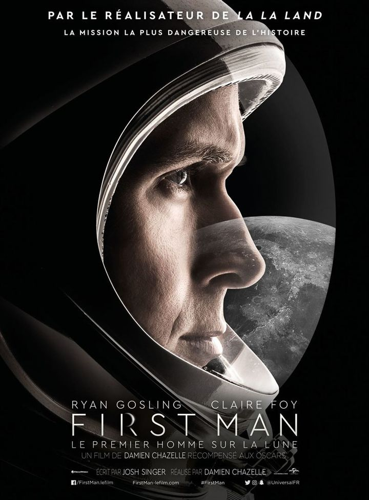 """""""First Man"""" : l'affiche  ( Universal Pictures International France )"""
