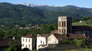 René Heuillet a été,pendant vingt-six ans, le prêtre de la cathédrale de Saint-Lizier (Ariège). (FABIEN BOUTET / PHOTONONSTOP / AFP)