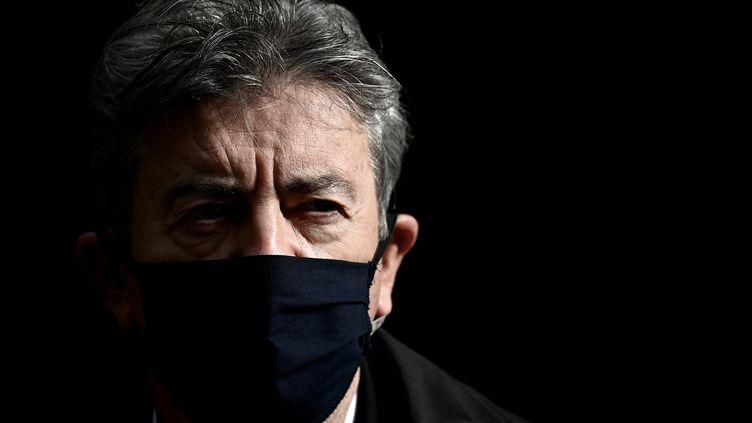 Jean-Luc Mélenchon le 11 octobre 2020. (PHILIPPE LOPEZ / AFP)