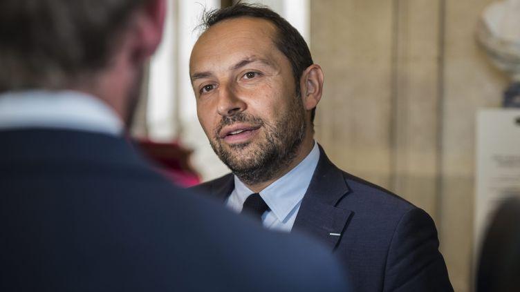 Sébastien Chenu, le 10 juillet 2018 à l'Assemblée nationale. (ALEXIS SCIARD  / MAXPPP)