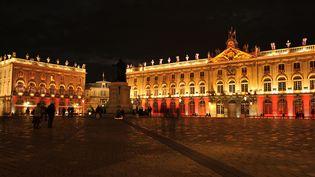 """Les places Stanislas, de la Carrière et d'Alliance à Nancy ont été commandées par le Duc de Nancy,Stanislas Leszczynski, pour honorer son gendre Louis XV. Inaugurée en 1755, la place Stanislas illustre """"une étape significative de l'histoire urbaine"""" selon l'Unesco. (SOBERKA RICHARD / HEMIS.FR / AFP)"""