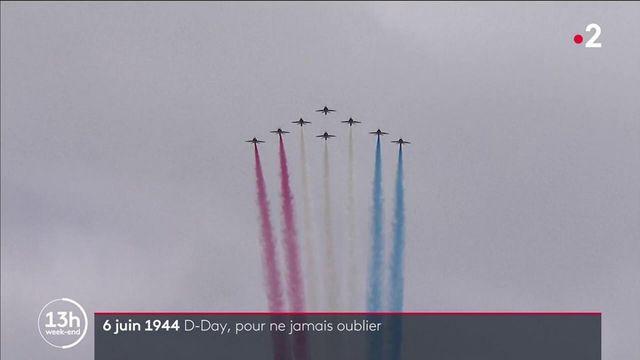 6 juin 1944 : commémoration du D-Day en Normandie, il y a 77 ans
