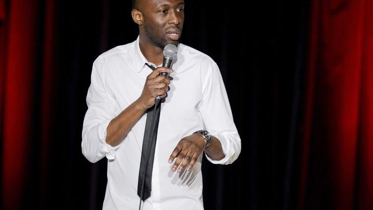 Thomas Ngijol est la nouvelle cible deCopyComic, qui a dévoilé lundi une vidéo accusant l'humoriste d'avoir plagiédes figures américaines du standup. (SYSPEO/SIPA)