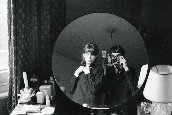 Deux poseurs, Jane et Andrew Birkin 1964  (Andrew Birkin)