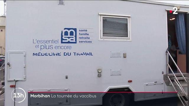 Morbihan : le vaccinobus atteint des populations plus isolées