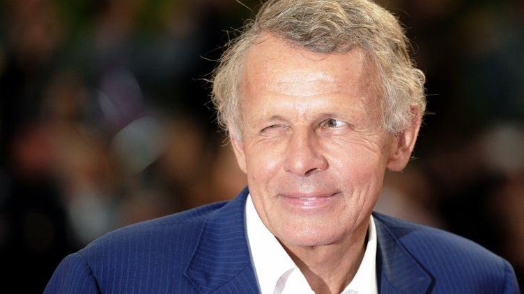 Patrick Poivre d'Arvor au festival du cinéma américain de Deauville, le 3 septembre 2011. (DAMIEN MEYER / AFP)