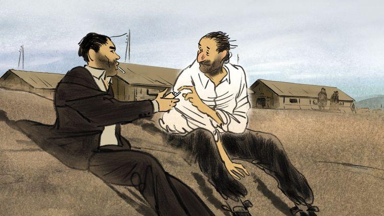 """Image extraite du film """"Josep"""", sélectionné à Cannes en 2020. (Aurel)"""