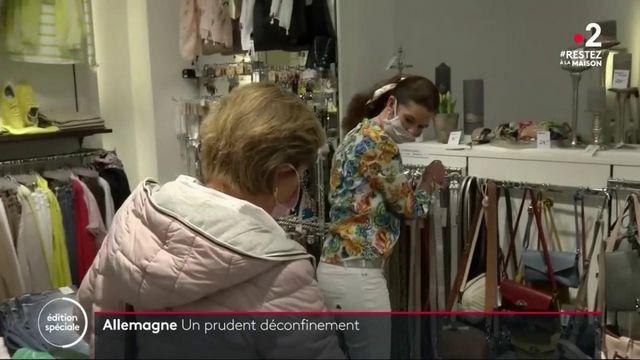 Déconfinement : en Allemagne, les commerces de moins de 800 mètres carrés rouvrent leurs portes
