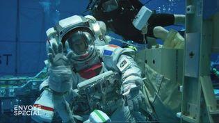 Envoyé spécial. Comment Thomas Pesquet se prépare aux sorties dans l'espace... sous l'eau (ENVOYÉ SPÉCIAL  / FRANCE 2)