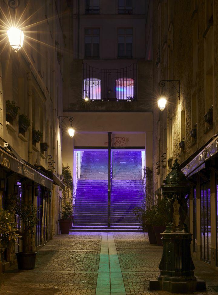Le quartier du Vertbois, la nuit (SEBASTIEN VERONESE)
