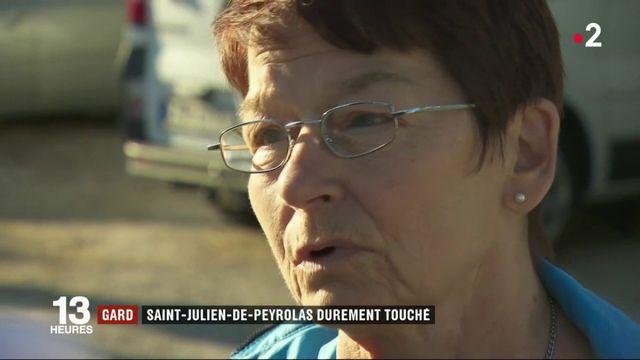 Gard : Saint-Julien-de-Peyrolas durement touché
