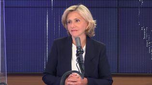 Valérie Pécresse était l'invité de franceinfo mercredi 2 juin 2021. (FRANCEINFO / RADIOFRANCE)