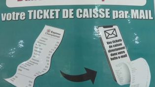 Consommation : bientôt la fin du ticket de caisse automatique dans les supermarchés (France 2)