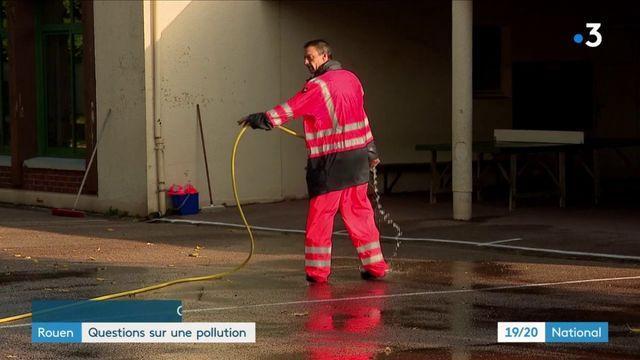 Incendie d'une usine à Rouen : la préfecture rassure, mais les habitants s'inquiètent