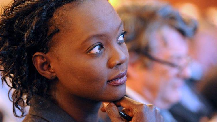 L'ancienne secrétaire d'Etat Rama Yade, le 6 juin 2012, à Asnières-sur-Seine (Hauts-de-Seine). (MEHDI FEDOUACH / AFP)