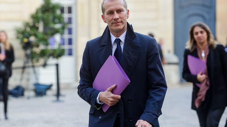 Le ministre délégué à l'Agroalimentaire, Guillaume Garot, le 29 octobre 2013 à Paris. (  MAXPPP)