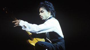 Prince Roger Nelson en concert au Palladium de New York le 2 décembre 1981.  (Waring Abbott /Getty Images)