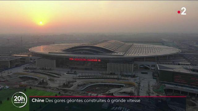 Gares géantes, constructions à grande vitesse : la folie du chemin de fer en Chine
