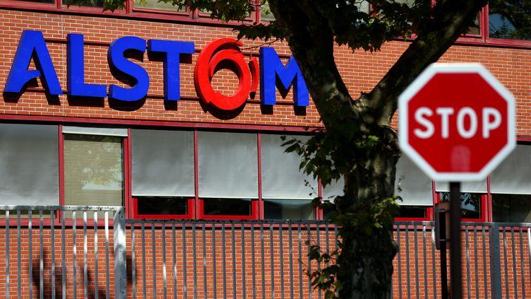 L'usine d'Alstom à Belfort au lendemain de l'annonce de sa fermeture en 2018 (/NCY / MAXPPP)