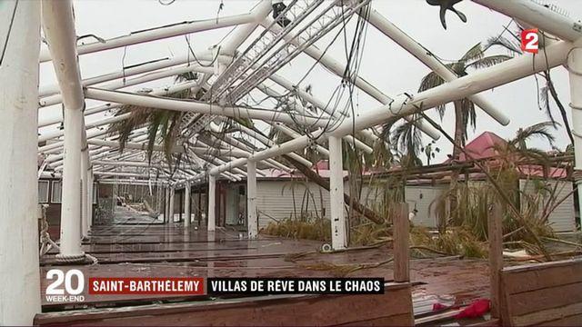 Saint-Barthélémy : les villas de rêve affrontent les cyclones