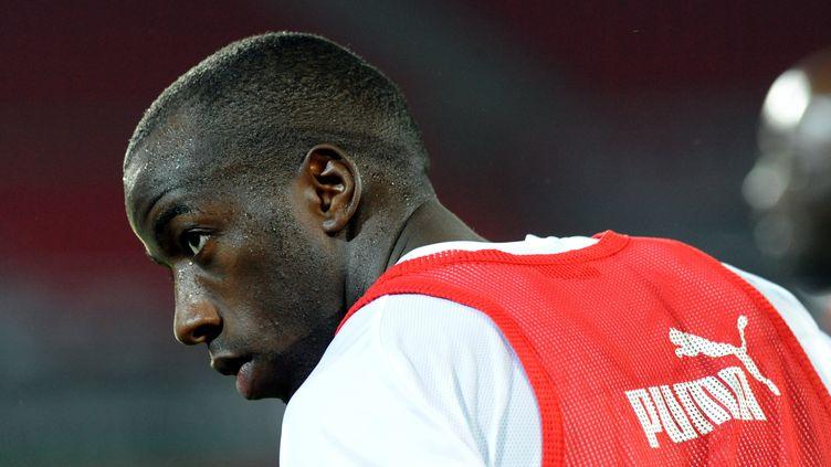 Souleymane Diawara, le 19 janvier 2012. (ABDELHAK SENNA / AFP)