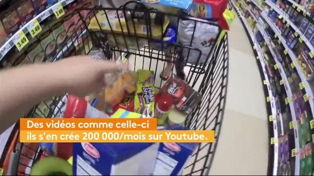 """Caddies 2.0 : """"le grocery haul"""" ou le déballage de ses courses de supermarché sur internet"""