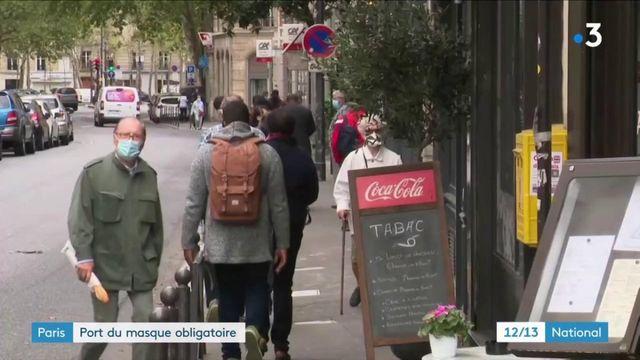 Paris : port du masque obligatoire
