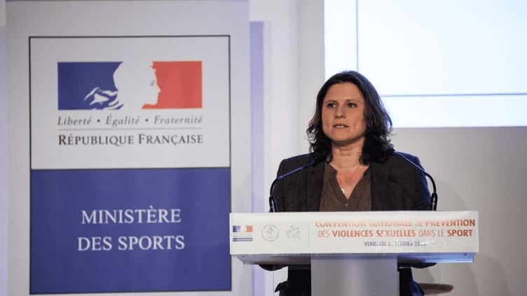 Roxana Maracineanu à la Convention nationale de prévention des violences sexuelles dans le sport