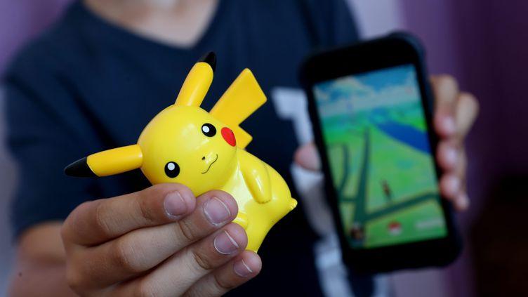 Le jeu Pokémon Go a été lancé en juillet 2016 en France. (MAXPPP)