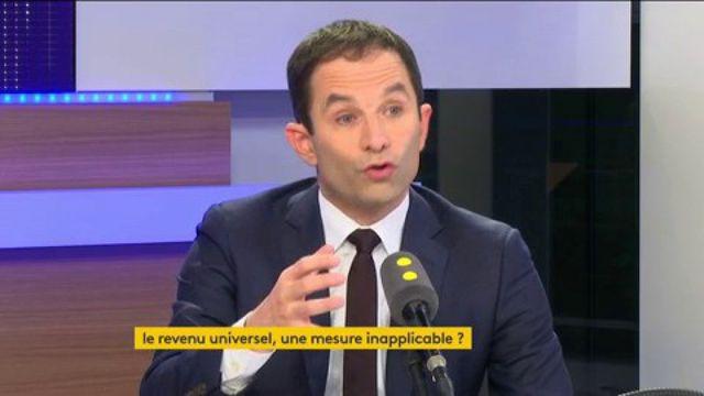 """Société """"du farniente"""" : """"Paresseux intellectuellement"""" répond Benoît Hamon aux critiques de Manuel Valls"""