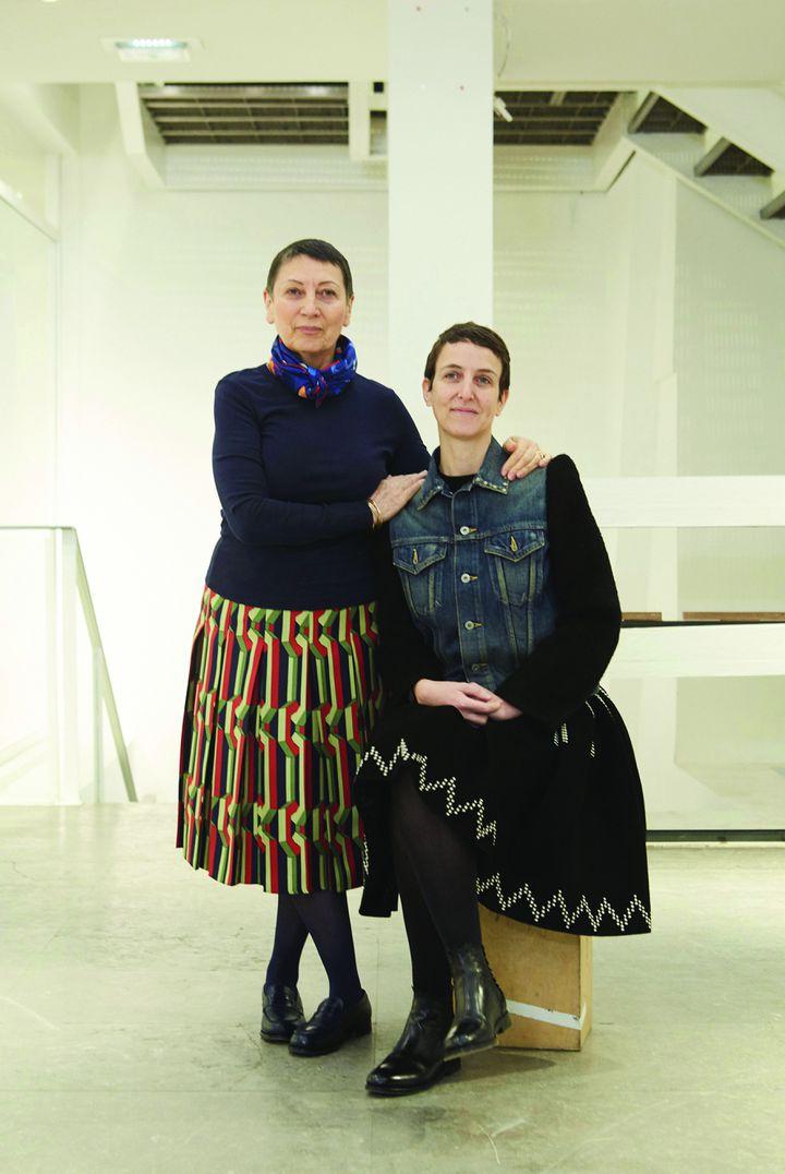 Sarah Andelman et Colette Roussaux (à gauche), fondatrice du concept-store parisien colette (K.Lawson_body)