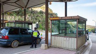 La frontière entre la France et l'Espagne a rouvert. (IDHIR BAHA / HANS LUCAS / AFP)