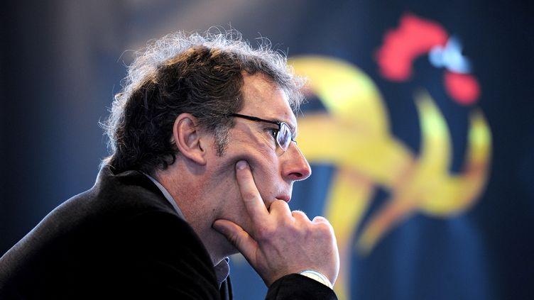 Laurent Blanc pendant sa période bleue (FRANCK FIFE / AFP)