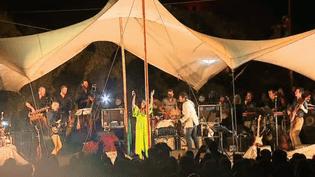 Le concert hommage à Nino Ferrer sous chapiteau à Montcuq  (France 3 Culturebox Capture d'écran)