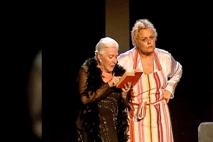 """Line Renaud et Muriel Robin dans """"Les Fugueuses""""  (France 2 / Culturebox)"""