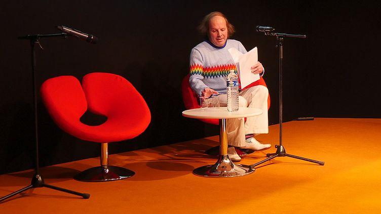 Philippe Katerine, au salon Livre Paris, 26 mars 2017  (Laurence Houot / Culturebox)